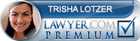 Trisha Elaine Lotzer  Lawyer Badge