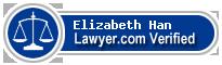 Elizabeth Valentine Han  Lawyer Badge