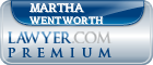 Martha Blood Wentworth  Lawyer Badge