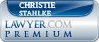Christie Lee Stahlke  Lawyer Badge