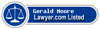Gerald Moore Lawyer Badge