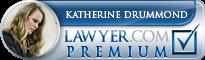 Katherine Anne Drummond  Lawyer Badge