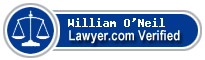William Marshall O'Neil  Lawyer Badge