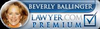 Beverly Kay Ballinger  Lawyer Badge
