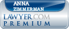 Anna Goulet Zimmerman  Lawyer Badge