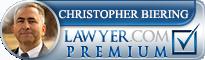 Christopher P. Biering  Lawyer Badge