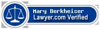 Mary Berkheiser  Lawyer Badge