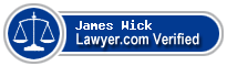 James H. Wick  Lawyer Badge