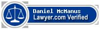 Daniel M. McManus  Lawyer Badge