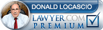Donald P. LoCascio  Lawyer Badge