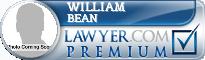 William S. Bean  Lawyer Badge