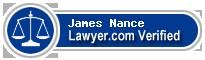 James D. Nance  Lawyer Badge