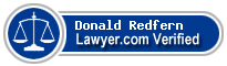 Donald Redfern  Lawyer Badge