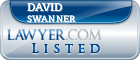 David Swanner Lawyer Badge
