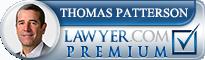 Thomas Patterson  Lawyer Badge