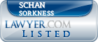 Schan Sorkness Lawyer Badge