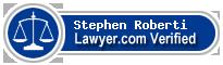 Stephen R Roberti  Lawyer Badge