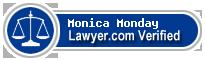 Monica Taylor Monday  Lawyer Badge