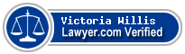 Victoria A. B. Willis  Lawyer Badge