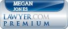 Megan Jones  Lawyer Badge