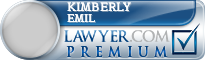 Kimberly A. Emil  Lawyer Badge