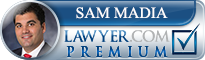 Samuel Dominick Madia  Lawyer Badge