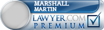 Marshall Bellamy Martin  Lawyer Badge