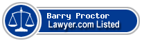 Barry Proctor Lawyer Badge