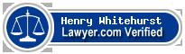 Henry A. Whitehurst  Lawyer Badge