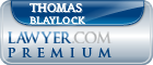 Thomas Marvin Blaylock  Lawyer Badge