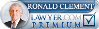 Ronald S. Clement  Lawyer Badge