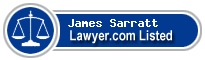 James Sarratt Lawyer Badge