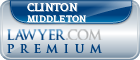 Clinton Oliver Middleton  Lawyer Badge