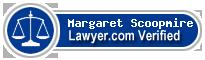 Margaret Riddle Scoopmire  Lawyer Badge