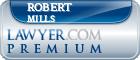 Robert Linwood Mills  Lawyer Badge