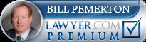 Bill W. Pemerton  Lawyer Badge