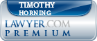 Timothy F. Horning  Lawyer Badge