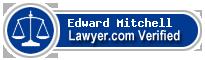 Edward James Mitchell  Lawyer Badge