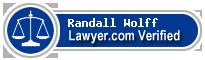 Randall Alan Wolff  Lawyer Badge