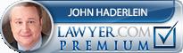 John Haderlein  Lawyer Badge
