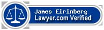 James A. Eirinberg  Lawyer Badge