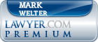Mark J. Welter  Lawyer Badge