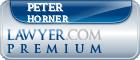 Peter J. Horner  Lawyer Badge