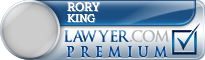 Rory King  Lawyer Badge