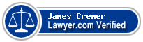 James M. Cremer  Lawyer Badge