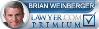 Brian A Weinberger  Lawyer Badge