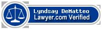 Lyndsay E. DeMatteo  Lawyer Badge