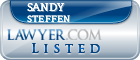 Sandy Steffen Lawyer Badge