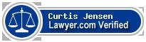 Curtis S. Jensen  Lawyer Badge