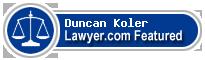 Duncan B. Koler  Lawyer Badge